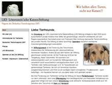 Tablet Preview of lks-stiftung.de